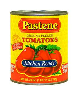 Pastene Kitchen Ready Sauce Recipe