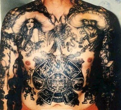 4e18ce76da45f Aztec calendar, black hand, Mexican eagle, letter