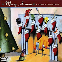 compilation chrismas guitar album image