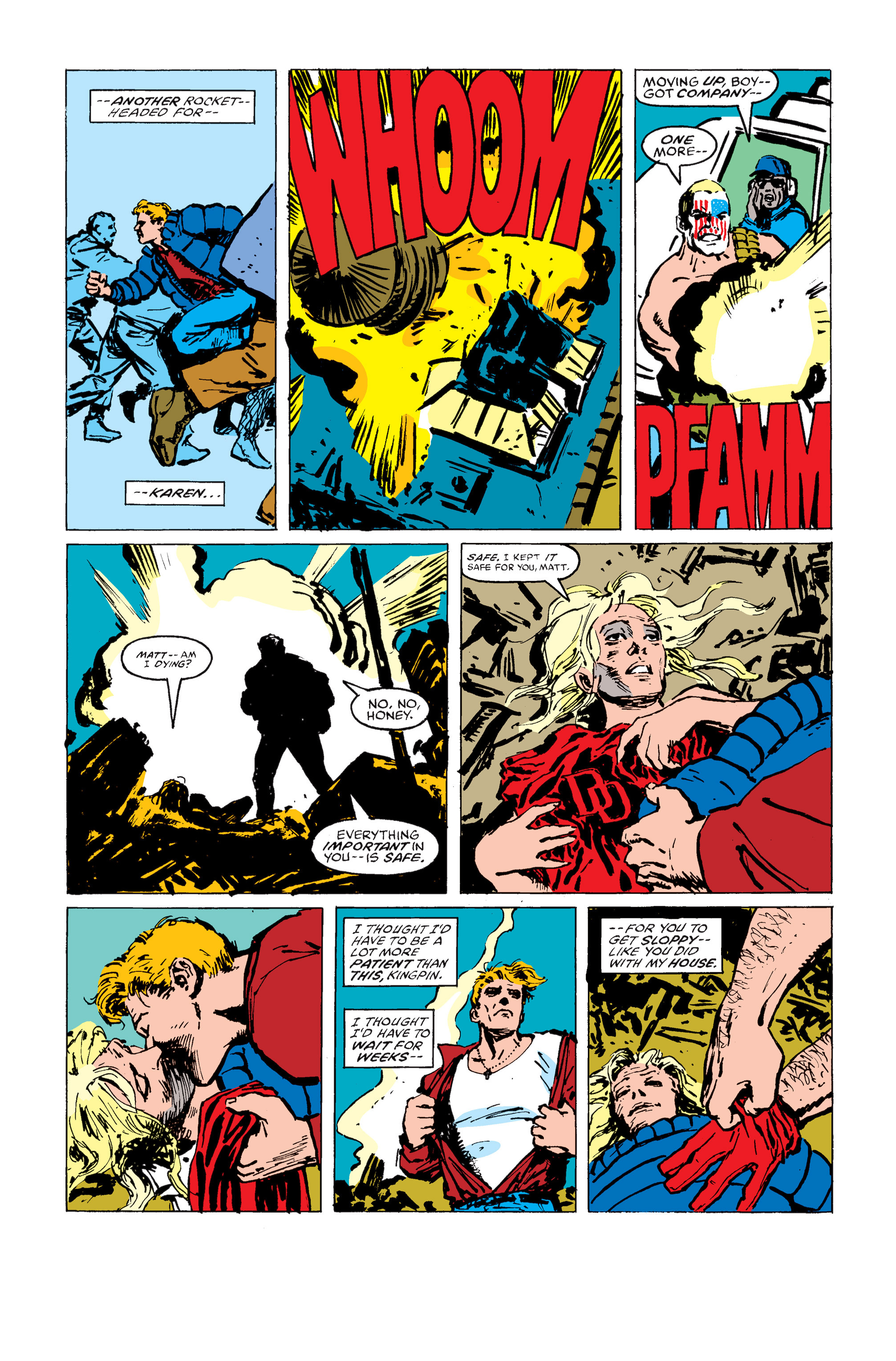Read online Daredevil: Born Again comic -  Issue # Full - 166