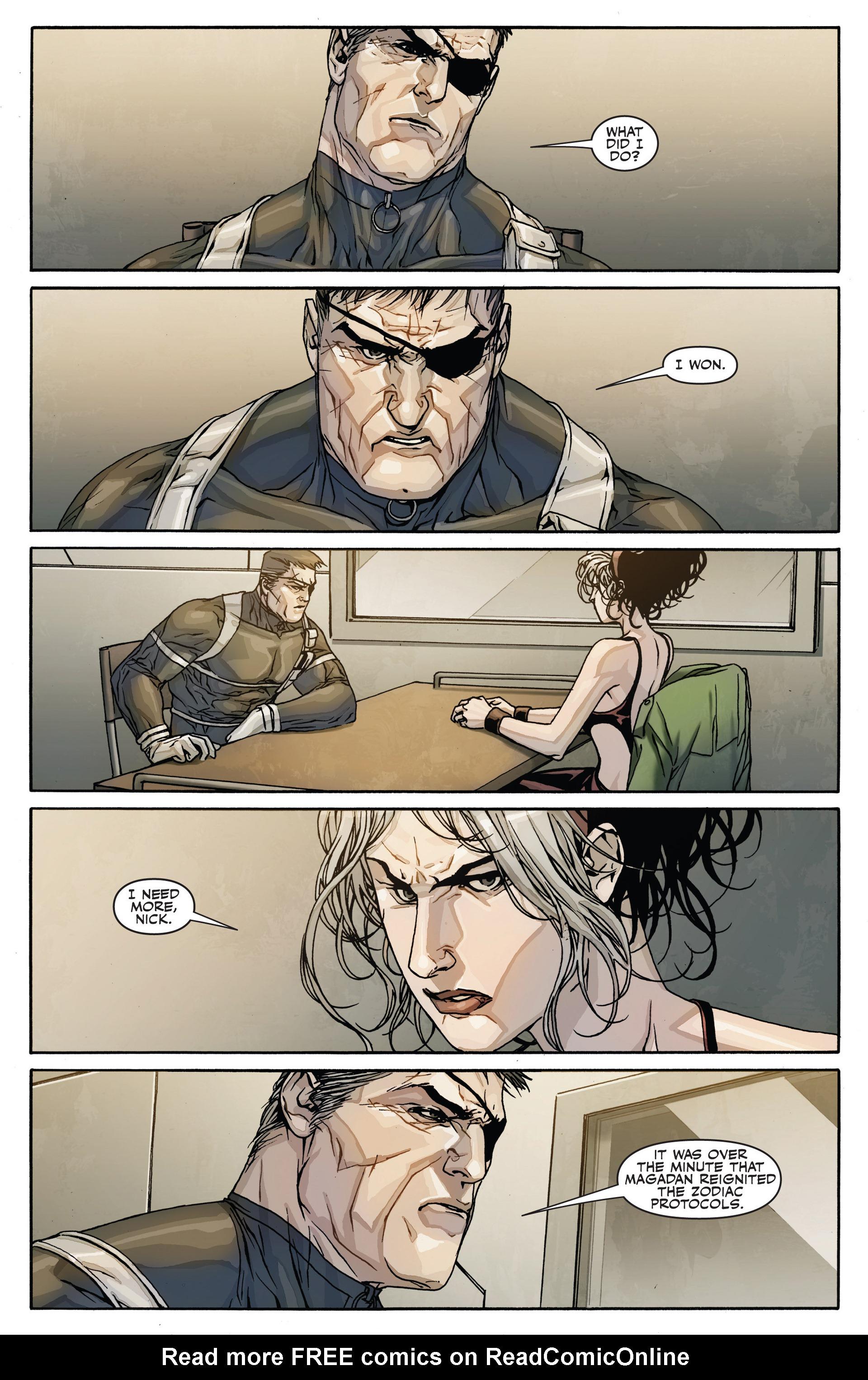 Read online Secret Warriors comic -  Issue #28 - 6