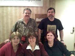 Some of the Gang at Love is Murder 2008