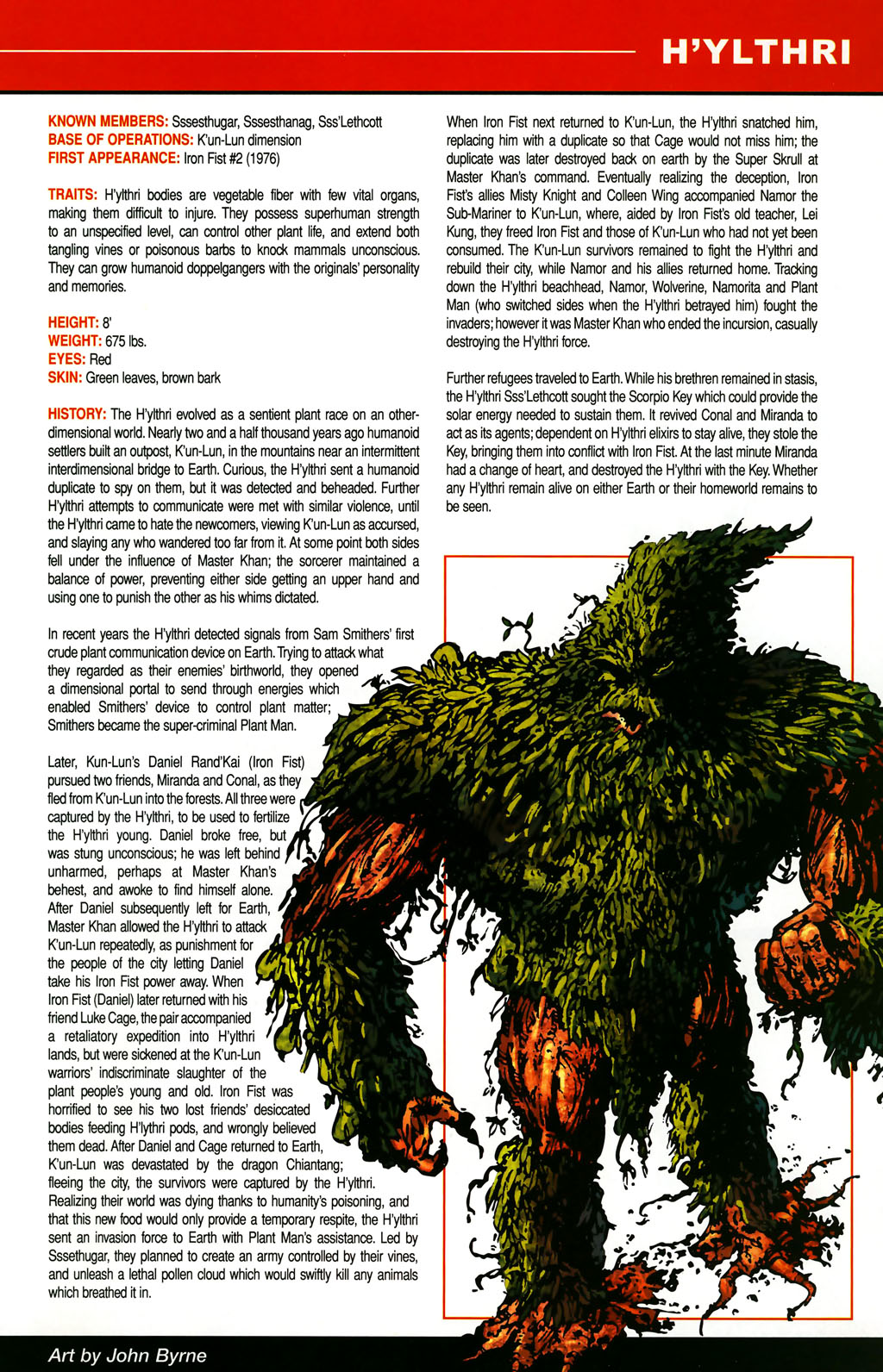 Read online All-New Official Handbook of the Marvel Universe A to Z comic -  Issue #5 - 45
