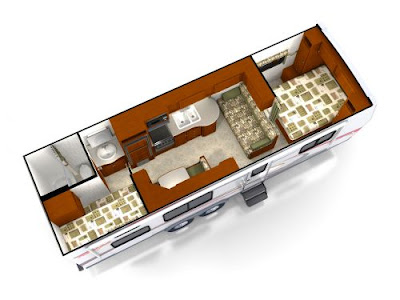 Rear Kitchen Travel Trailers Floor Plans
