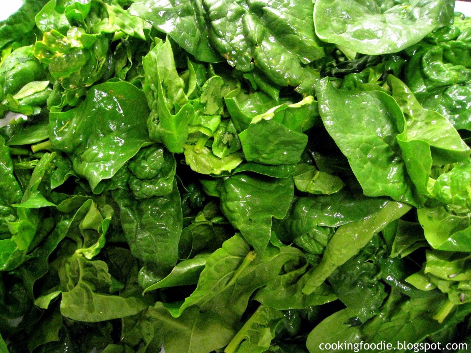 Indian Spinach Food