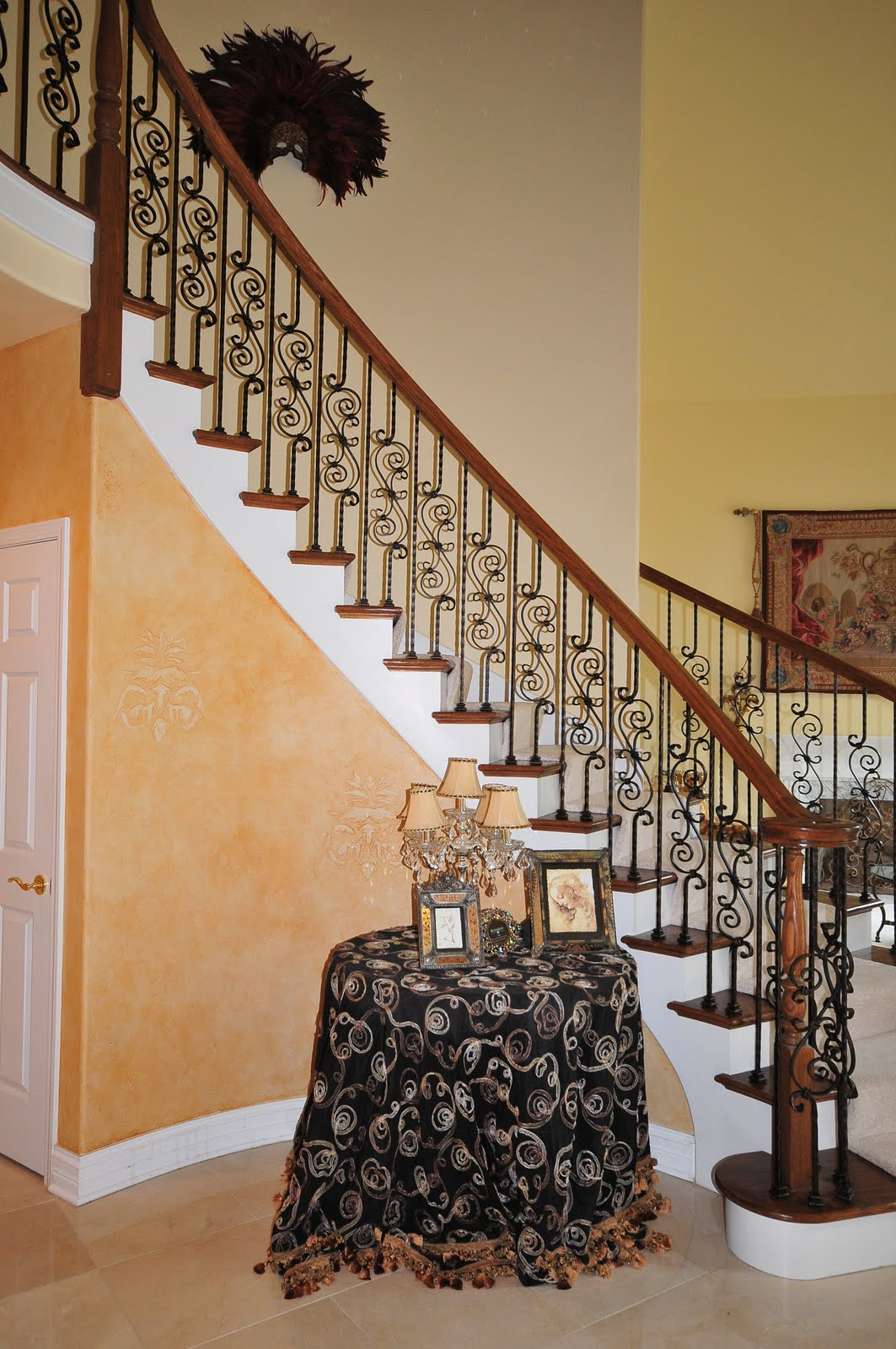 Naperville Stairs And Railings With Iron Balusters | Iron Railings For Steps
