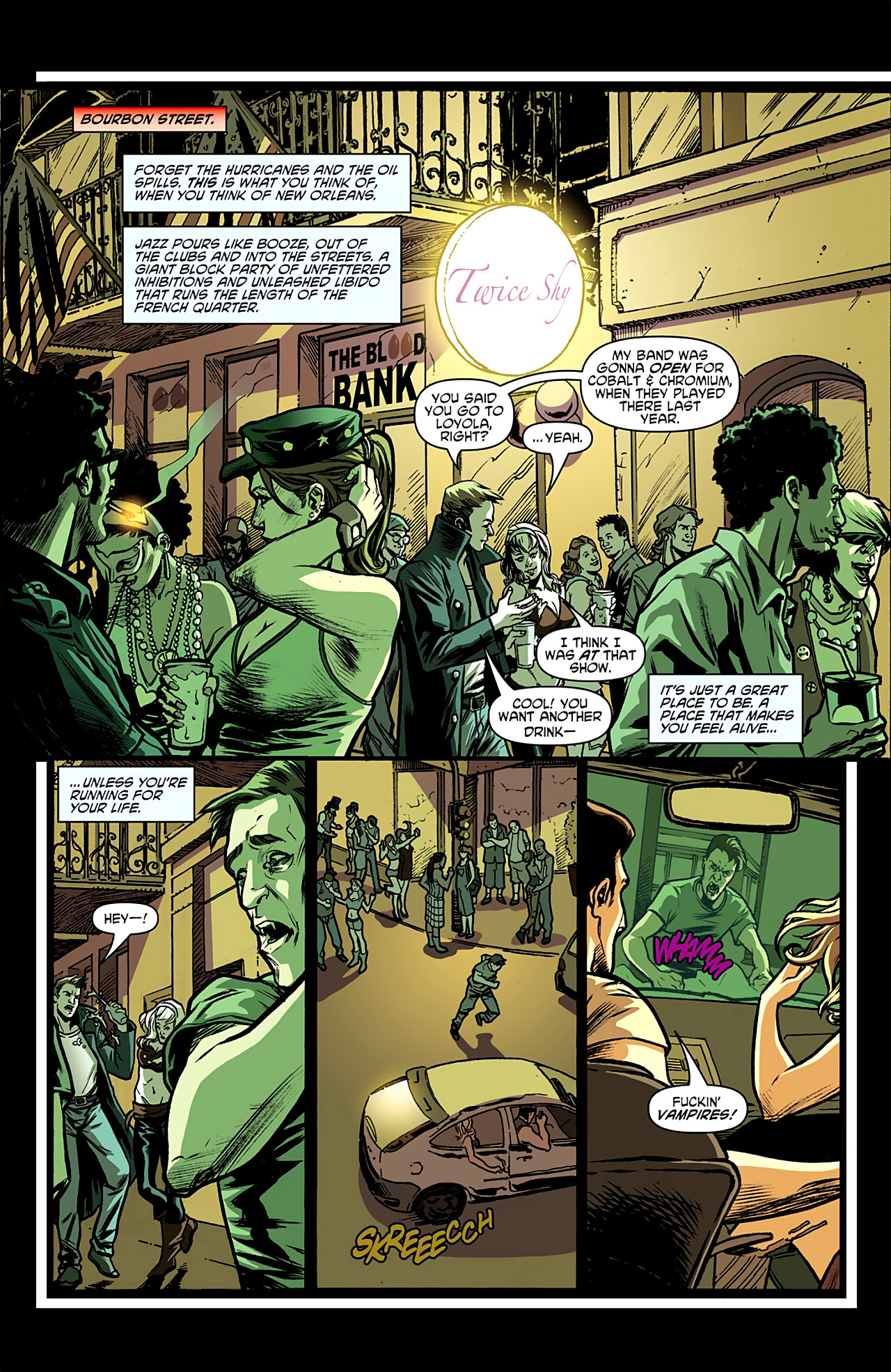 Read online True Blood: French Quarter comic -  Issue #1 - 5