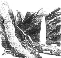 Illustration accompanying the Project Gutenberg copy of the short story titled Invasion by Murray Leinster
