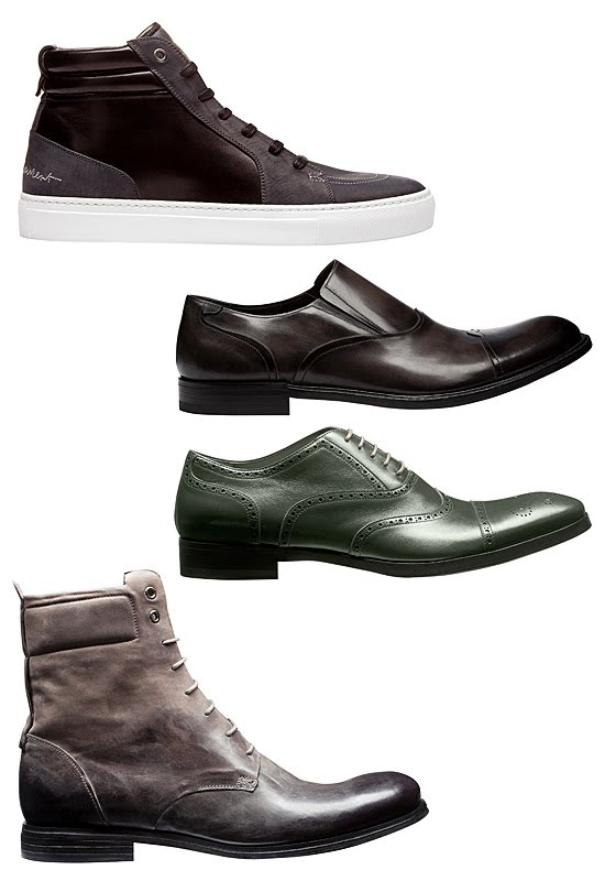 Yves Saint Laurent Fall Winter 2010 Mens Shoes Bags And