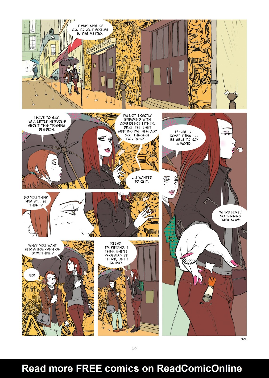 Read online Diary of A Femen comic -  Issue # TPB - 58