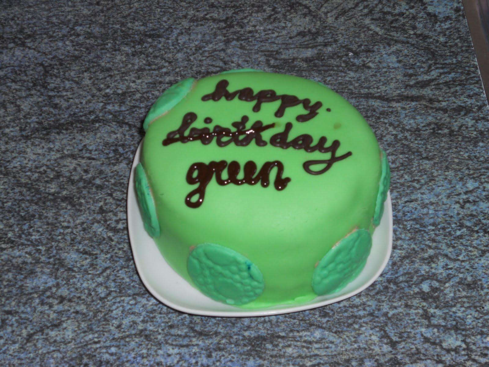 taart groen a true artist: Groene taarten en appelpop taart groen