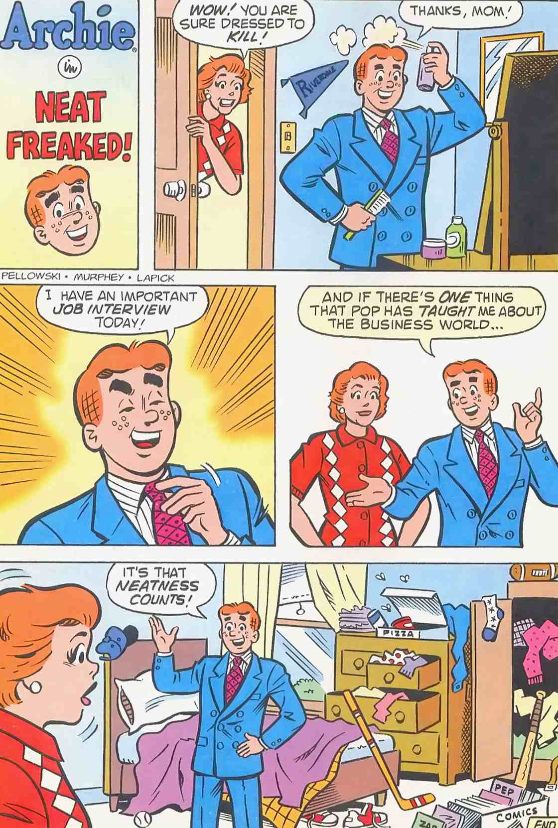 Read online Archie (1960) comic -  Issue #454 - 19