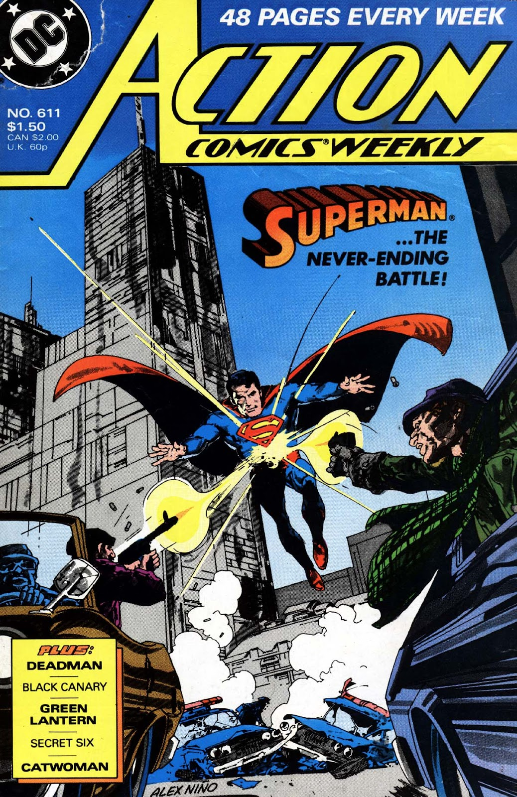 Action Comics (1938) 611 Page 1