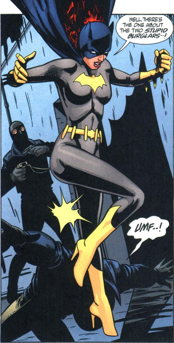 deviantart batgirl defeated