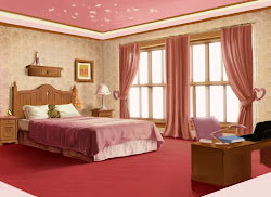 bed wallpapers bedroom pretty pink