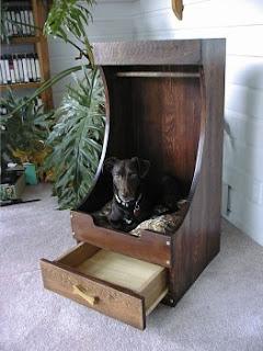 Dog and Cat closet beds: Dog Closet Bed