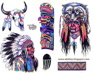 Tattoo Art Indios Americanos Desenhos