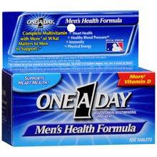 mejores vitaminas para hombres menores de 50 años