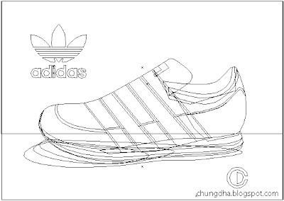 Adidas vector shoe