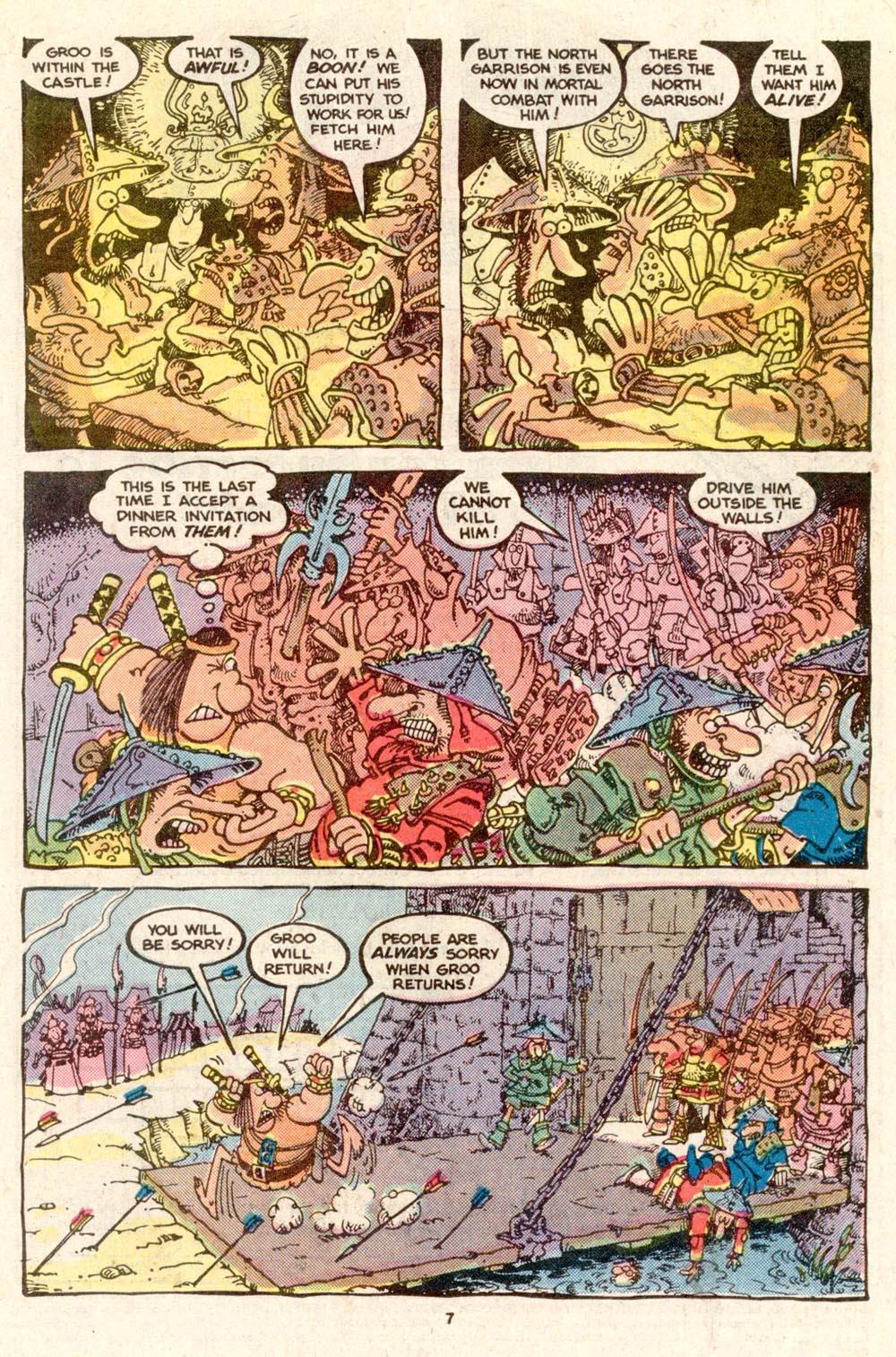 Read online Sergio Aragonés Groo the Wanderer comic -  Issue #19 - 7