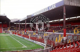 1988 picture of the Stretford End