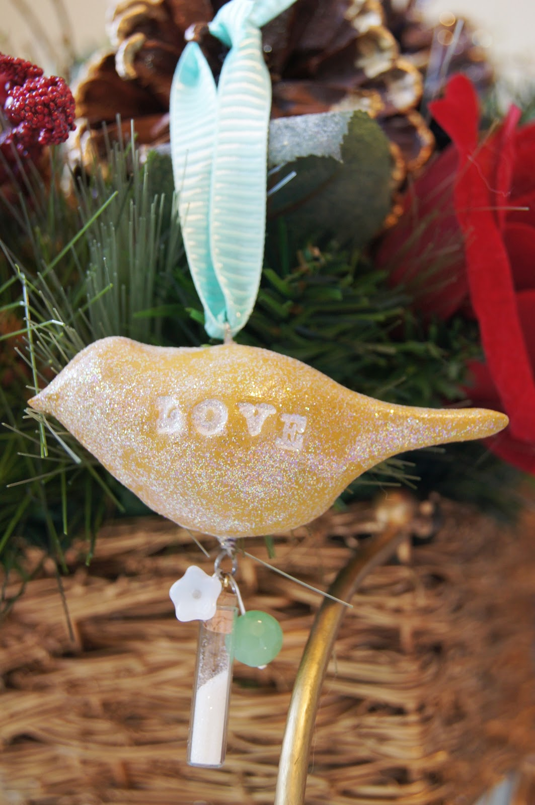Handmade Holiday Clay Bird Ornaments The Shine Project