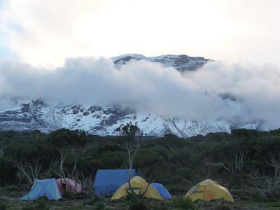 Radiating Hope: Mount Kilimanjaro, Africa