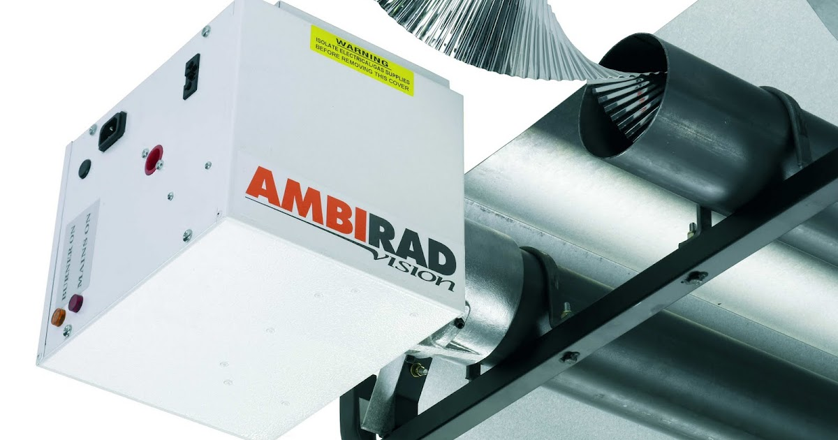 Ambirad Infrared Radiant Tube Heaters For Commercial And
