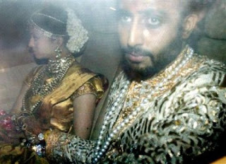Newly Married Couple Aishwarya And Abhishek