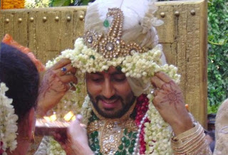 Abhishek As A Groom