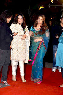Aishwarya Rai In Blue Saree