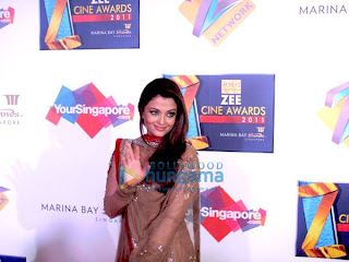 Aishwarya Rai At Zee Cine Awards