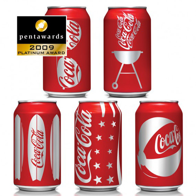 Coke Summer Cans