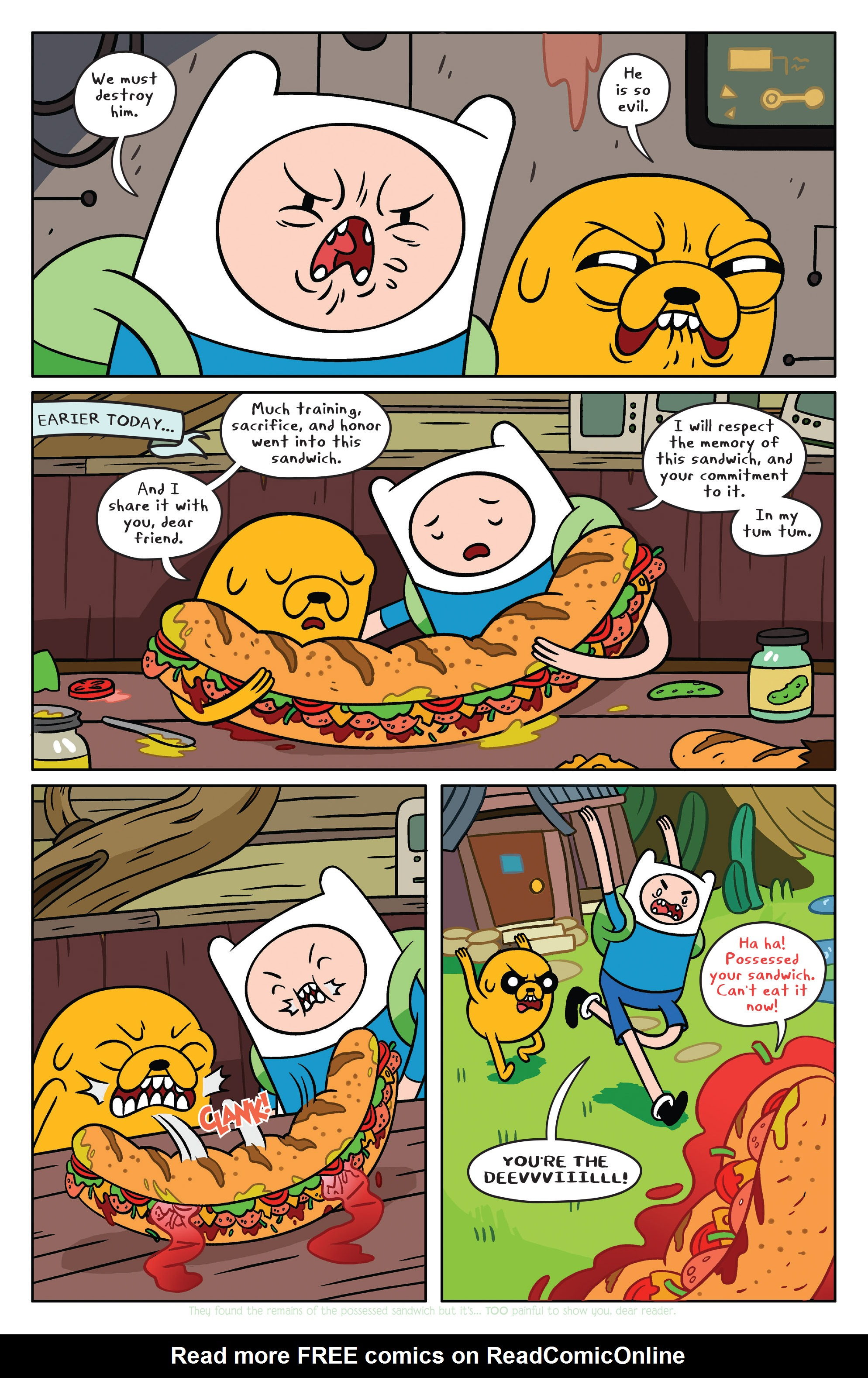 Read online Adventure Time comic -  Issue #36 - 10