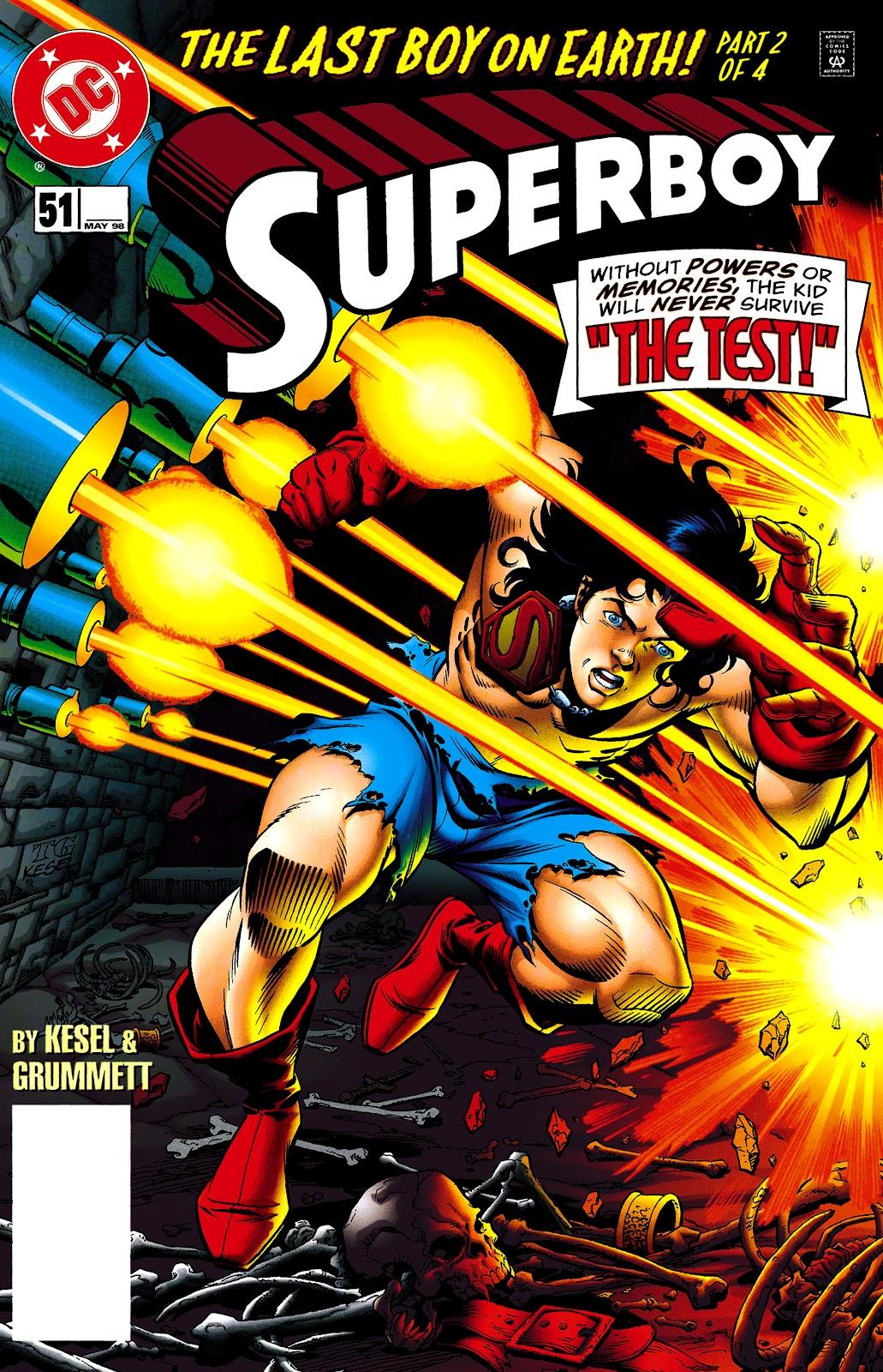 Superboy (1994) 51 Page 1