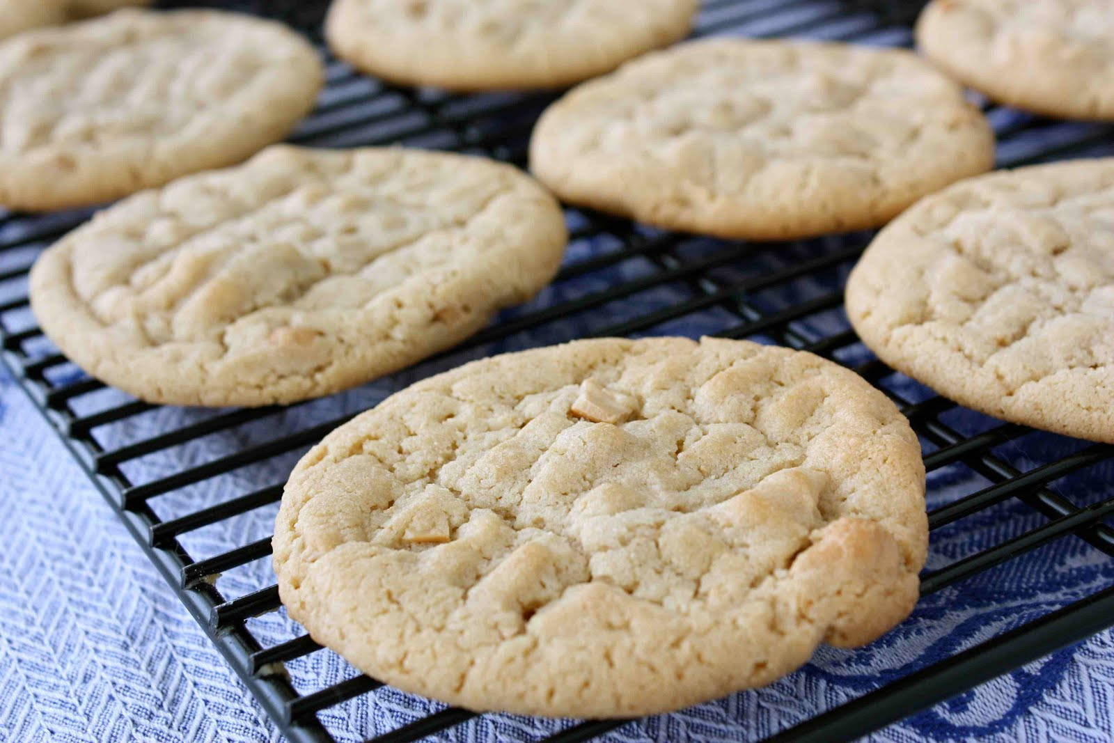 Easy Cashew Butter Cookie With Sea Salt Recipe