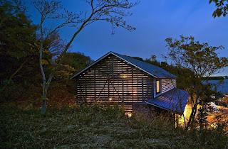 Casa de Madera Minimalista