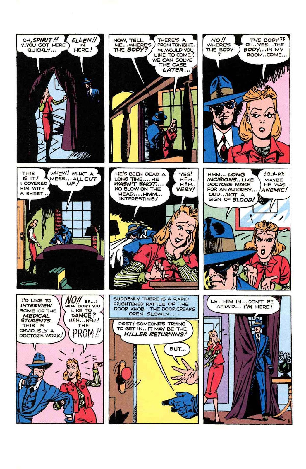 Read online Will Eisner's The Spirit Archives comic -  Issue # TPB 1 (Part 2) - 86
