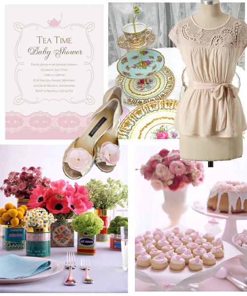 Nursery Décor For The Grown Ups: De Bourg Style: Tea Time Baby Shower