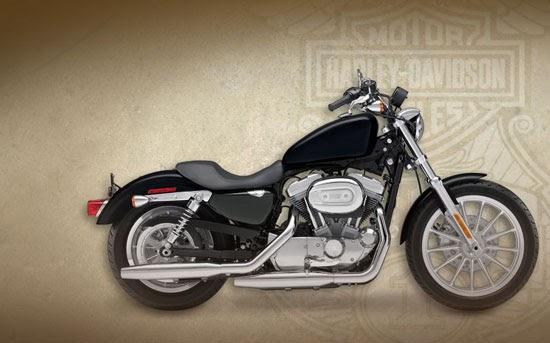 Harley Davidson Police 883 Xl Sportster 2009