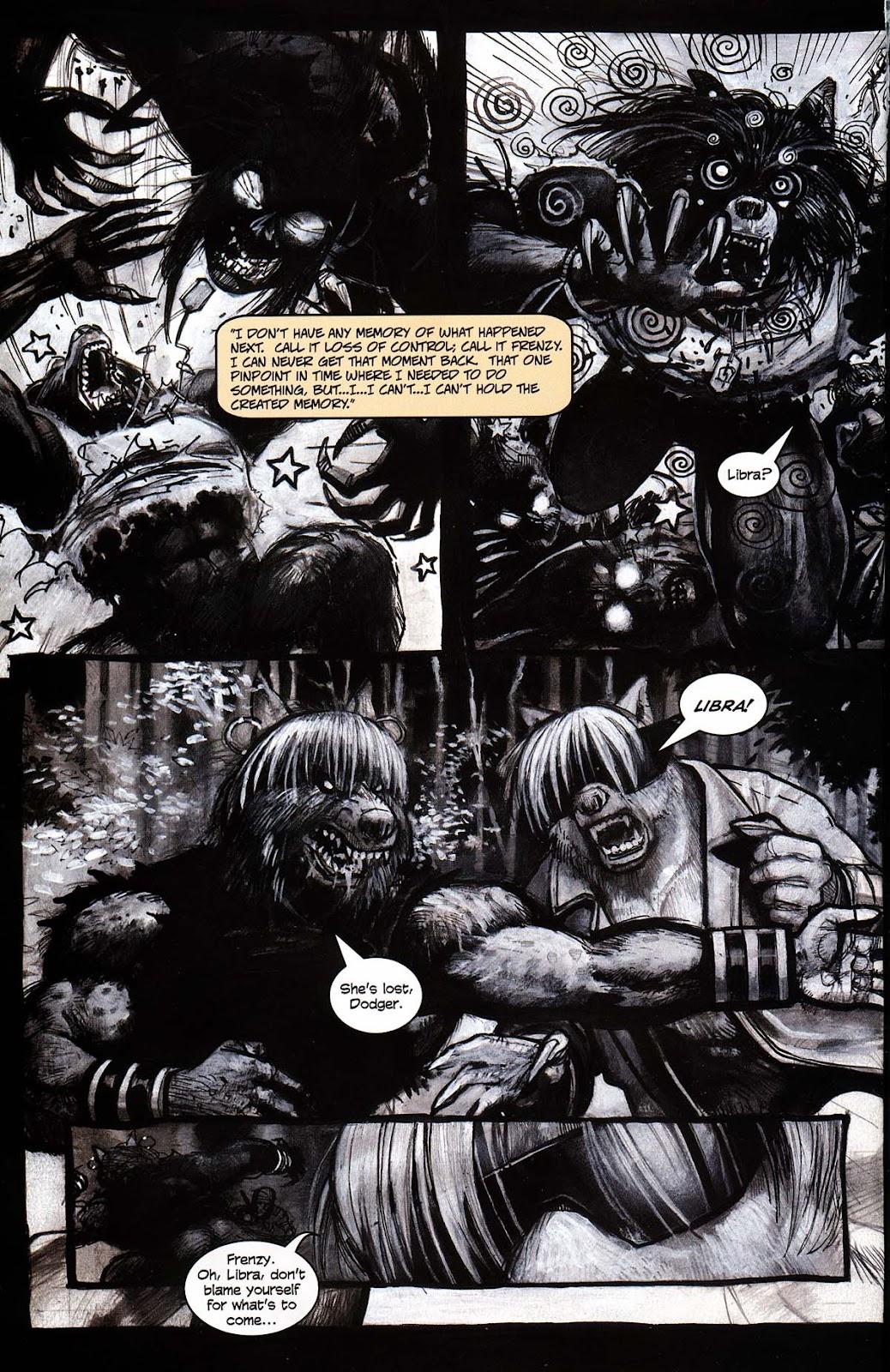 Read online Werewolf the Apocalypse comic -  Issue # Black Furies - 30