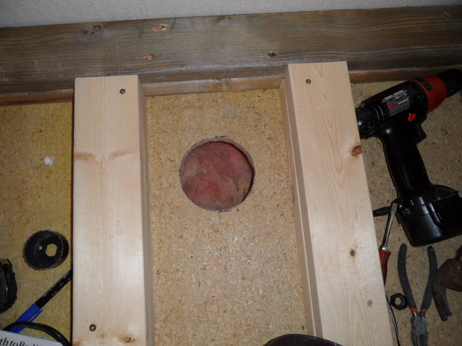 Wood Stove With Hearth Installation Pt 1 Picture Heavy