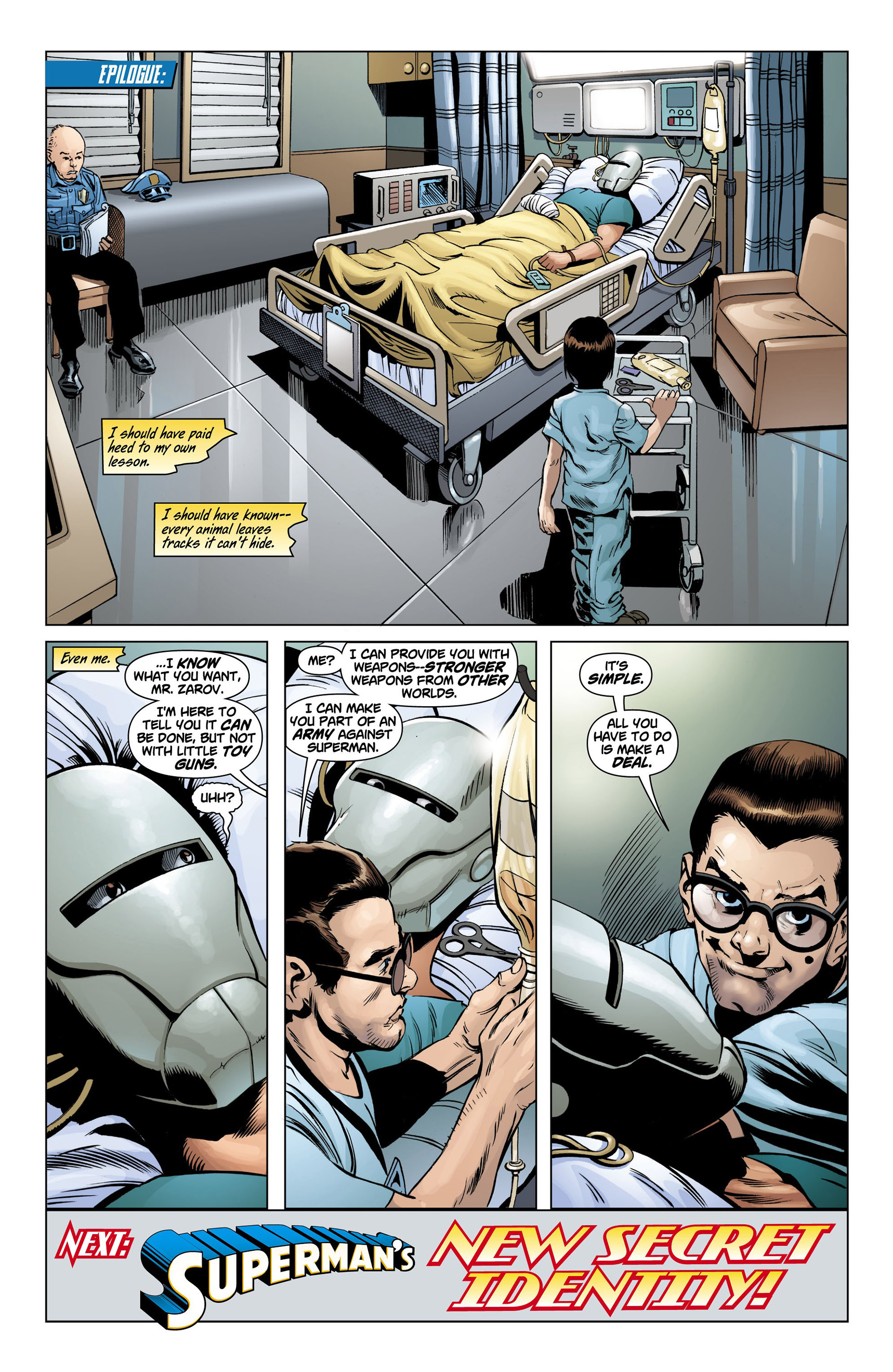 Read online Action Comics (2011) comic -  Issue #10 - 20