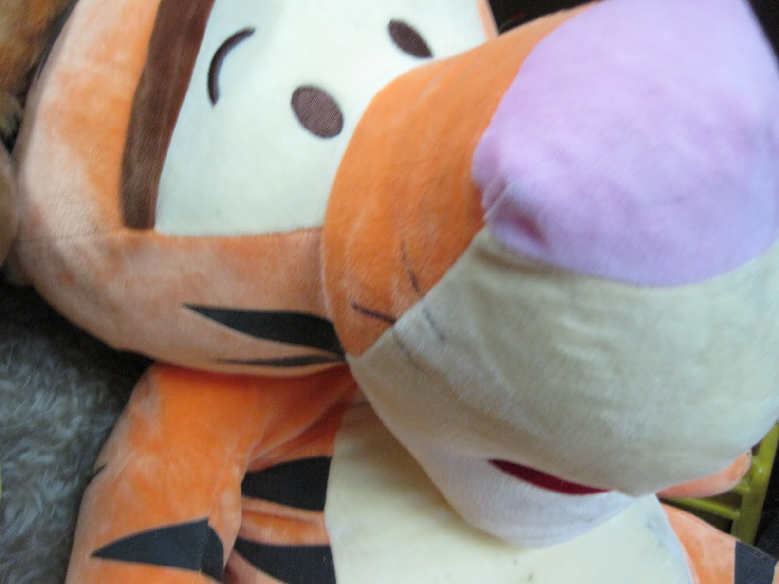 Baby Blogs Big Tigger Plush Toy Size L