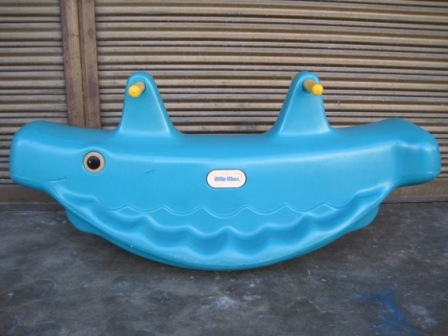 Little Tikes Big Whale See Saw My Baby