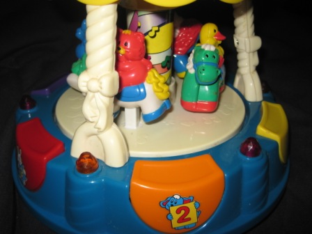 Vtech Light Up Carousel My Baby