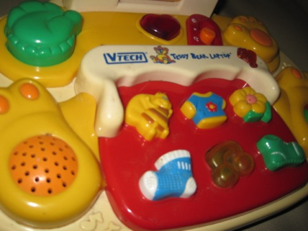 Vtech Teddy Bear Laptop My Baby