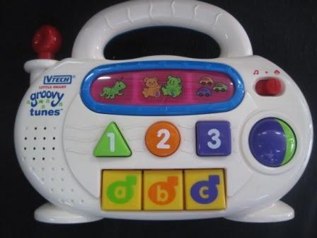 Vtech Groovy Tunes Radio My Baby