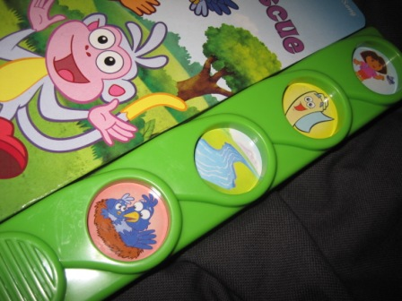 Singing Potty Chair Full Of Bowlies Doras Musical Rescue Book | My Baby Stuff