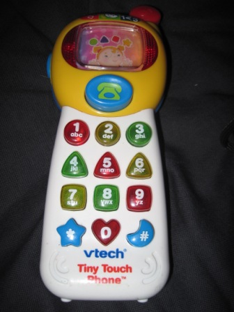 Vtech Tiny Touch Phone My Baby